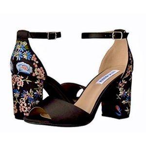 Steve Madden Delilah Embroidered Heels